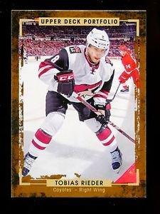 2015-16 Upper Deck Portfolio Hockey  Base  #47  Tobias Rieder