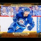 2015-16 Upper Deck Portfolio Hockey  Base  #84  Blake Wheeler