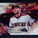 2016 Topps Baseball Chrome Update Target  #HMT34  Shelby Miller