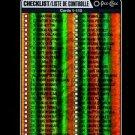 2016-17 OPC O-Pee-Chee Hockey  BLACK RAINBOW  #110  Checklist  17/100