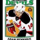 2016-17 OPC O-Pee-Chee Hockey  RETRO  #207  Adam Henrique