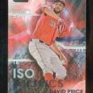 2016 Topps Baseball Stadium Club  ISO Metrics  #I-21  David Price