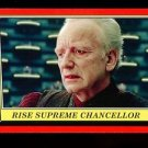 2016 Topps Star Wars Rogue One Mission Briefing  #6  Rise Supreme Chancellor