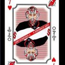 2016-17 OPC O-Pee-Chee Hockey  Playing Card  7 of Hearts  Cory Schneider