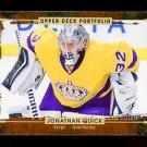 2015-16 Upper Deck Hockey Portfolio  #121  Jonathan Quick