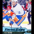 2016-17 Upper Deck Hockey Series 1 YOUNG GUNS  #208  Alan Quine