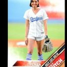 2016 Topps Baseball Update Series First Pitch  #FP-6  Aubrey Plaza