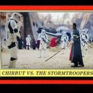 2016 Topps Star Wars Rogue One Mission Briefing  #108 Chirrut vs Stormtroopers