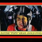 "2016 Topps Star Wars Rogue One Mission Briefing  #93  Davish ""Pops"" Krail"