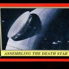 2016 Topps Star Wars Rogue One Mission Briefing  #105 Assembling the Death Star
