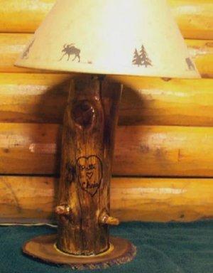 Timber Lamps