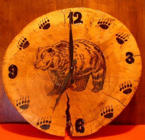 Timber Greatroom Clocks