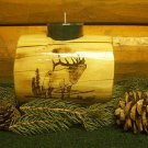 Timber Bull Elk Candleholder