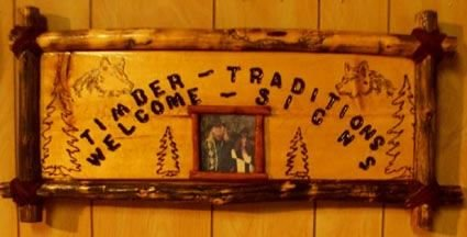 Timber Welcome Sign I