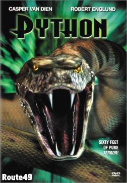 PYTHON Casper Van Dien (Brand New) WS R1 DVD