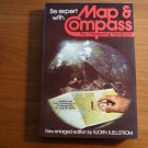 MAP AND COMPASS  - THE ORIENTEERING HANDBOOK --  BOOKS NON FICTION D112213