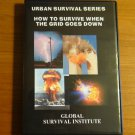 Z6  HOW TO SURVIVE WHEN THE GRID GOES DOWN - 2 DVD SET URBAN SURVIVAL KNIVES