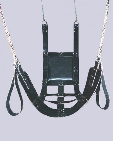 100% Real Cow Leather Adult Sex Sling Swing