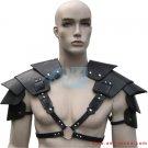 Leather Armor Sentinel Segmented Shoulder Harness