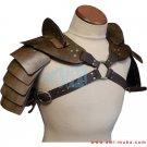 Gladiator Hardened Leather Double Shoulder Armor