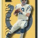 1999   Skybox Premium  Box Tops Insert  # 3BT  Peyton Manning