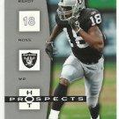 2006   Fleer   Hot Prospects  # 69   Randy Moss