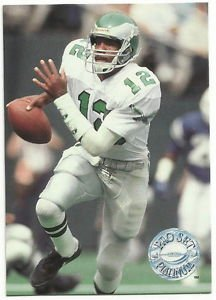 1991   Pro Set  Platinum  # 88  Randall Cunningham