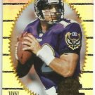 1996    Pinnacle Summit  Silver Foil Parallel  Refractor # 20   Vinny Testaverde