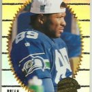 1996    Pinnacle Summit  Silver Foil Parallel  Refractor # 24  Brian Blades