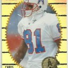 1996    Pinnacle Summit  Silver Foil Parallel  Refractor # 89   Chris Sanders