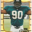 1996   Pinnacle Summit  Silver Foil Parallel  Refractor # 150  Tony Brackens RC!