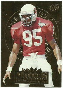 1995   Fleer Ultra  Gold Medallion  #  7   Jamir Miller