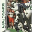 1992   Pro Set  # 611  Randall Cunningham