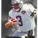 1995   Fleer Metal   Silver Flashers Insert   # 28   Rick Mirer