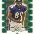 2000   SP Authentic   Rookie Fusion Insert    # 3   Travis Taylor