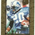 1996  Fleer Ultra  Sensations  Gold Marble    # 36   Barry Sanders