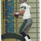 1998 Topps Chrome Measures of Greatness  Insert # 5  Warren Moon  HOF'er