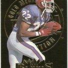 1995   Fleer Ultra  Gold Medallion  #  25   Jeff Burris