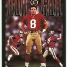 1993   Skybox Premium Poster Cards Insert  # CB10   Steve Young