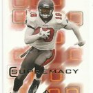 2000   SP Authentic  Supremacy Insert    # 10   Keyshawn Johnson