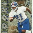 1997  Skybox Premium   Rookie Preview Insert  # 2   Tiki Barber  RC!