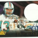1996 Pinnacle Mint  Die Cut Insert  # 4   Dan Marino  HOF'er