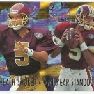 1995   Fleer Ultra    2nd Year Standouts Insert    # 12   Heath Shuler