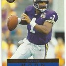 1996   Fleer Ultra  # 88  Warren Moon    HOF'er!