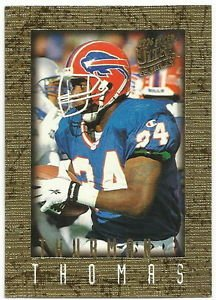 1996  Fleer Ultra  Sensations  Gold Marble    # 12   Thurman Thomas
