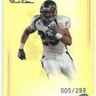 2008   Press Pass Ledgends Refractor # 10  Matt Forte RC!   005/299