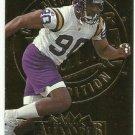 1995   Fleer Ultra  Gold Medallion  #  184   Derrick Alexander  RC!