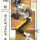 2000   SP Authentic   Athletic Insert   # 10    Troy Edwards