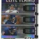 2007  Donruss Elite   Elite Teams Refractor  Chicago Bears  # ET6   Ser # ed