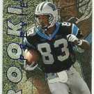 1997  Skybox Premium   Rookie Preview Insert  # 4  Rae Carruth  RC!